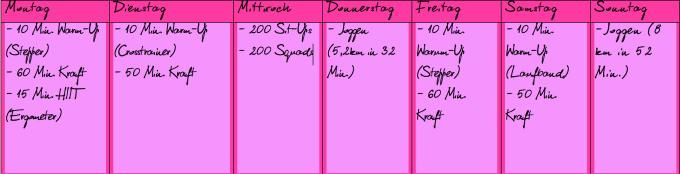 Fitnessdiary KW 22