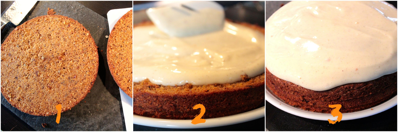 carrot cake rezept schrift