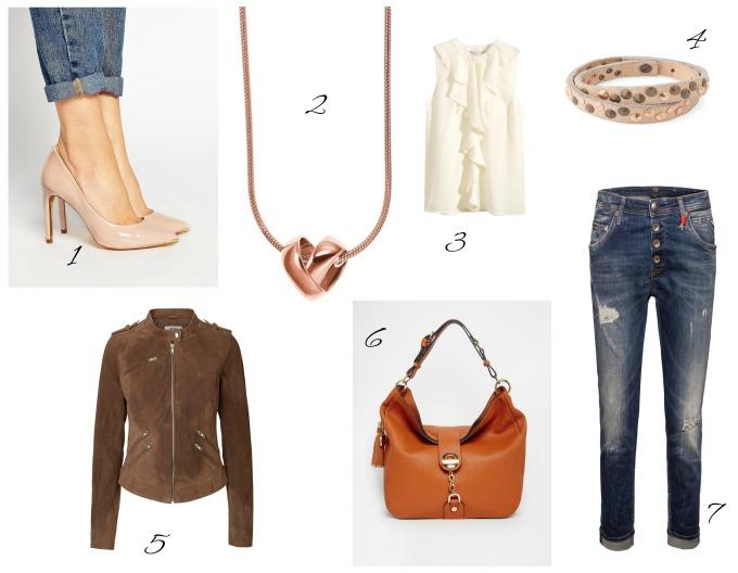 glamour shopping week collage