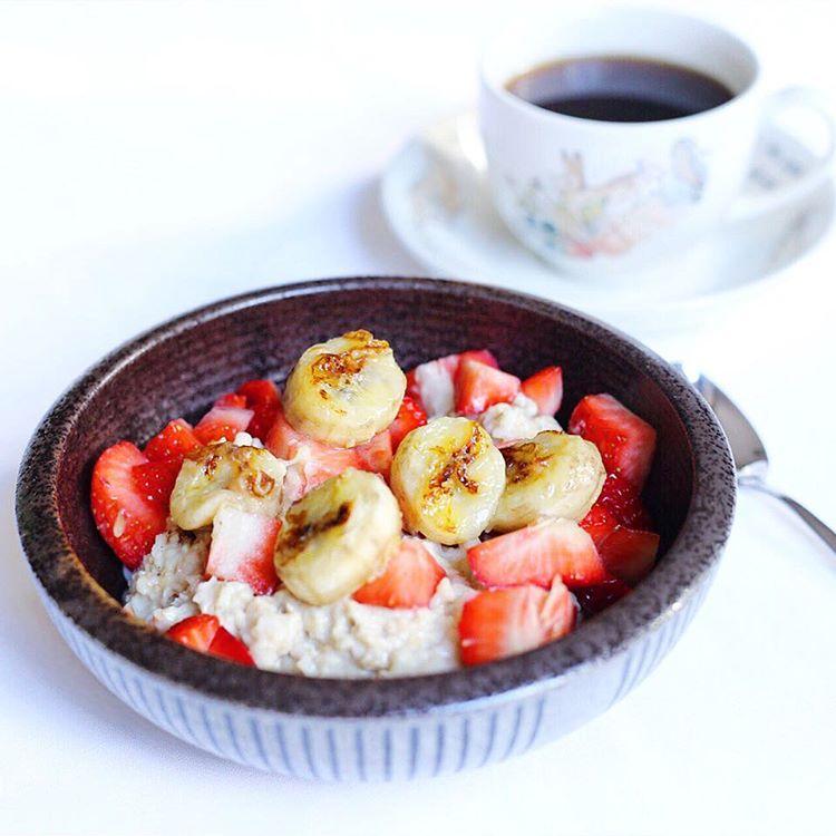 Guten Morgen neue Woche! Mein Porridge wurde heute von etwashellip