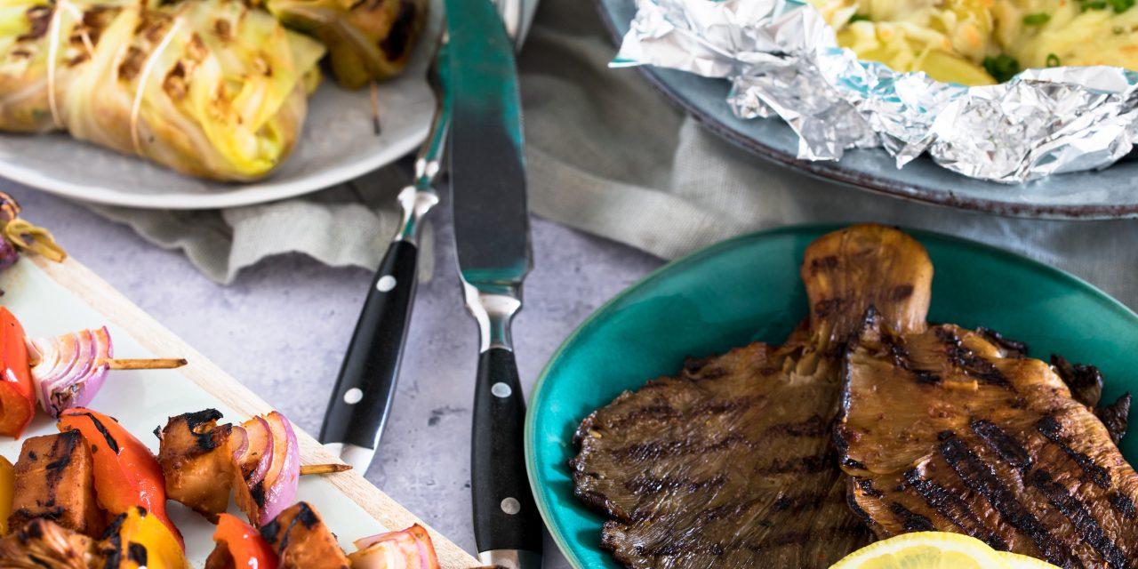 Vegetarische Alternativen für das Grillen ohne Fleisch.